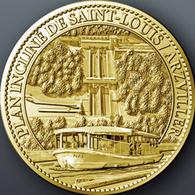 57 SAINT LOUIS  ARZVILLER PLAN INCLINÉ MÉDAILLE TOURISTIQUE ARTHUS BERTRAND 2012 JETON MEDALS TOKENS COINS - 2012