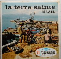 VIEW MASTER  POCHETTE DE 3 DISQUES  :  LA TERRE SAINTE  ISRAËL     C  820 - Stereoscopes - Side-by-side Viewers