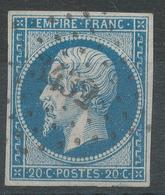 Lot N°42991   N°14A, Oblit PC 3432 Troyes, Aube (9), Bonnes Marges - 1853-1860 Napoléon III