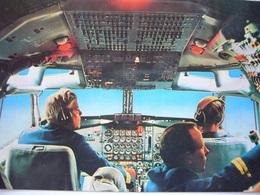 Avion / Airplane / Lufthansa / Boeing B 707  Cockpit / Airline Issue - 1946-....: Ere Moderne