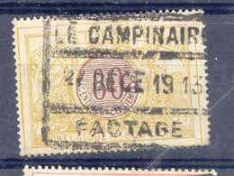 A989 Begie Spoorweg Chemin De Fer  Stempel LE CAMPINAIRE - Chemins De Fer