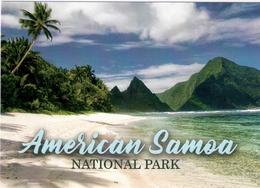 AMERICAN SAMOA National Park (USA) Postcard - New Unused - Samoa Americana