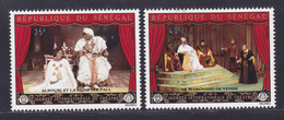 SENEGAL N°  361 & 362 ** MNH Neufs Sans Charnière, TB (D7351) Journée Internationale Du Théatre - Sénégal (1960-...)