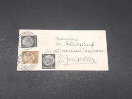 ALLEMAGNE - Enveloppe De Franfurt Pour Bruxelles En 1934 - L 17840 - Allemagne