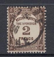 TIMBRE TAXE N° 62 (COTE 30€) OBLITÉRÉ DE 1936 / PETIT PRIX - Impuestos