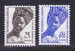 SENEGAL N°  373 & 374 ** MNH Neufs Sans Charnière, TB (D7353) Elégance Sénégalaise - Sénégal (1960-...)