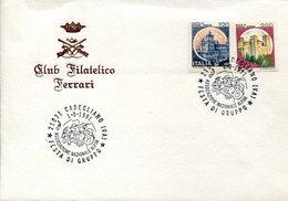 34292 Italia, Busta Con Annullo Speciale Cadegliano Varese 1991 Festa Di Gruppo Associazione Alpini - Militaria