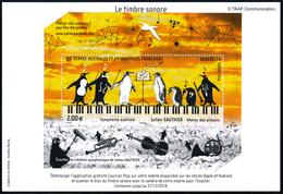 TAAF 2018 Bloc Symphonie Australe - Julien Gauthier**Le Timbre Sonore - Blocchi & Foglietti
