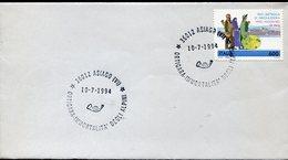 34293 Italia, Busta Con Annullo Speciale Asiago, 1994 Ortigara Immortalità Degli Alpini - Militaria