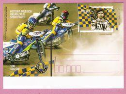 Poland 2018, Postcard MNH, Sport, Speedway, Motorcycle Motorbike, - Moto