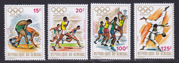SENEGAL N°  368 à 371 ** MNH Neufs Sans Charnière, TB (D7355) Sports, Jeux Olympiques De Munich - Senegal (1960-...)