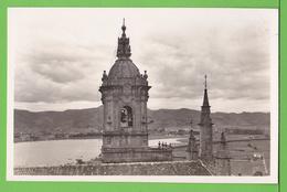 FUENTERRABIA / VISTA DESDE EL CASTILLO DE CARLOS V ..... Carte Vierge / Tarjeta Virgen - Autres