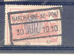 B130 Begie Spoorweg Chemin De Fer Stempel MARCHIENNE AU PONT - Railway