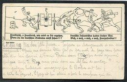 CPA - Illustration - Frankreich, O Frankreich, Wie Wird Es Dir Ergehen, Wenn Du Die Deutchen Goldaten - Guerre 1914-18
