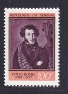 SENEGAL N°  376 ** MNH Neuf Sans Charnière, TB (D7357) L'écrivain Aleksandr S.Pouchkine - Sénégal (1960-...)