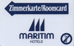 GERMANIA KEY HOTEL Maritim Hotels - Cartes D'hotel
