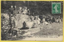La Sainte Baume Fontaine De Nans ( Source ) Env De Gémenos Aubagne Marseille - Saint-Maximin-la-Sainte-Baume