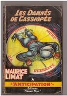 Fleuve Noir  Anticipation N°190 Les Damnés De Cassiopée, Maurice Limat. Brantonne - Fleuve Noir