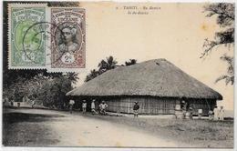 CPA Tahiti Océanie Océania Polynésie Timbré - Tahiti