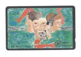 Isle Of Man - Man58, Art School Design, 2,984ex, 1992, Used - Isle Of Man