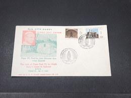TURQUIE - Enveloppe FDC De La Visite Du Pape  Paul VI En 1967 - L 17866 - 1921-... República