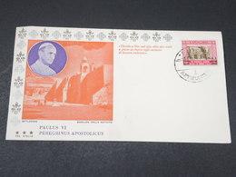 JORDANIE - Enveloppe FDC De La Visite Du Pape  Paul VI En 1964 - L 17869 - Jordanie