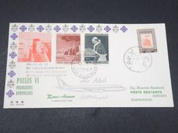 JORDANIE / VATICAN - Enveloppe FDC De La Visite Du Pape  Paul VI En 1964 - L 17870 - Jordanie