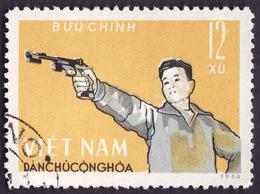 VIETNAM Du NORD 1964 - YT 390  - Tir  - Oblitéré - Viêt-Nam