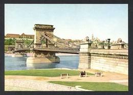 Hungria. Budapest *Chain Bridge* Foto: MTI Fényes Tamás. Nueva. - Hungría