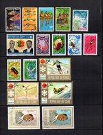Tchad   1971-72  .-  Y&T Nº   238/241-242-243-244-245/249-250/252-253/254 - Chad (1960-...)