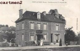 PONT-AUTHOU CAFE RESTAURANT VEUVE AUGUSTE BAP 27 EURE - Other Municipalities
