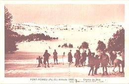 FR66 FONT ROMEU - Chauvin - Champs De Ski - Animée - Belle - Autres Communes
