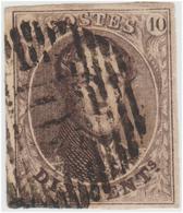 Médaillon Allongé (Sans Filigrane) - 4 Belles Marges - 1858-1862 Medallions (9/12)
