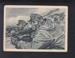 Dt. Reich PK Gebirgsjäger In Stellung - Guerra 1939-45