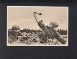 Dt. Reich AK Unteroffiziere Im Kampf - Guerre 1939-45