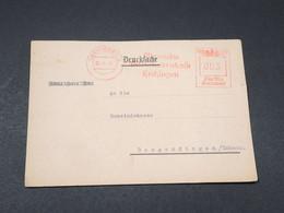 ALLEMAGNE - Carte Commerciale De Hechingen En 1944 Pour Rangendingen - L 17890 - Allemagne