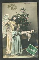 CPA - Anges - Joyeux Noël - Angels
