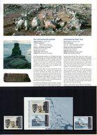 Danemark Année Polaire Internationale 2007/08. Timbres 1463/64 ** + BF 31 ** Dans Un Encart Cartonné. - International Geophysical Year