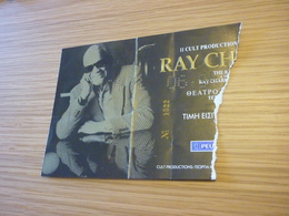 Ray Charles Jazz Ticket D'entree Music Concert In Athens Greece - Concert Tickets