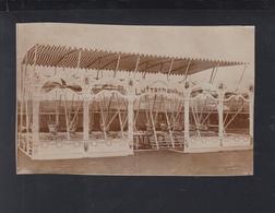 Dt. Reich Altes Photo Luftschaukel Karussel Fabrik Neustadt Orla - Zirkus