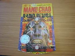 Manu Chao Radio BembaTicket D'entree Music Concert In Athens Greece - Concert Tickets