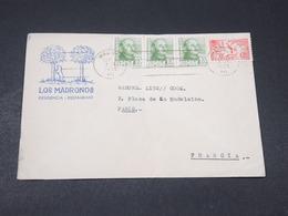 ESPAGNE - Enveloppe Commerciale De Madrid Pour La France En 1955 - L 17894 - 1951-60 Cartas
