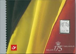 3418 XX Postfris - Zilveren Zegel In Presentatiemap Incl Blok 118 - Belgien