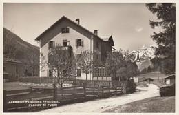 -BOZEN-BOLZANO-FLERES DI FUORI-BRENNERO-ALBERGO PENSIONE FREUND-CARTOLINA VERA FOTOGRAFIA-ANNO 1939 - Bolzano