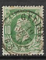 8Bs-717:N°30:D7: GEDINNE - 1869-1883 Leopold II