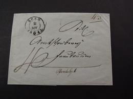 BERN (1843) - ...-1845 Prefilatelia