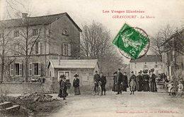CPA - GIRANCOURT (88) - Aspect Du Quartier De La Mairie En 1913 - France