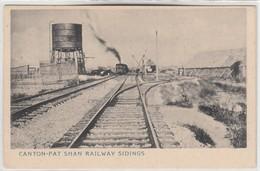 CANTON-FAT SHAN RAILWAY SIDINGS - Chine