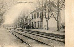 CPA - GIRANCOURT (88) - Aspect De La Gare Au Début Du Siècle - France