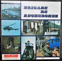 Rare Jeux Brigade De Recherche Editions Miro Meccano Années 70 - Police